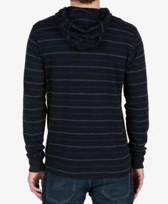 0c6fa00de533 Volcom Men s Sanders Pullover Hoodie - Blue XL Hoodie, Pullover, Men s  Hoodies, Jumper