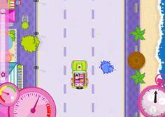 JuegosPolly.com - Juego: Auto de Polly - Jugar Gratis Online