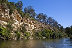 Gippsland Lakes- Tambo River bluff. A favoured fishing spot for my father and I, then my son and I. Victoria, Australia.