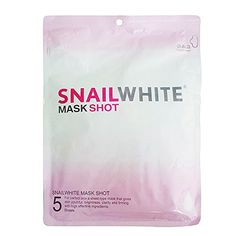 Snail White Mask Shot Facial Whitening Bright Repair Renew Recovery 5 Sheets *** Read more reviews of the product by visiting the link on the image. #SkinCareMask