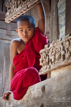 For a boy in Myanmar it is customary to enter a monastery between the age 10 and 20 as a Buddhist novice for at least one week. This is a place where Buddhism is still a way of life. Click pin through to post for more info.