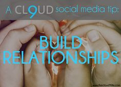Whether you're running your own business or working towards it, 72% of online adults use social networking sites. What an opportunity! We will be sharing our social media tips for you to use and share with your teams. The first one is: Build Relationships. The better your relationships, the more loyal customers and team members you will have. This means sharing their posts, commenting, having conversations, and liking.