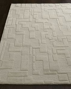 Abstract Maze Rug - Horchow