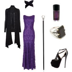 """""""My Maleficent Outfit"""" by gia-bennett on Polyvore"""