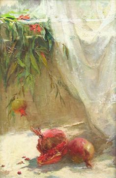 The pomegranate colour www.nikagabunia.com