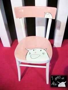 I Gatti di Ale - sedie decorate