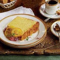Lemon Curd Pound Cake   MyRecipes.com