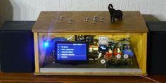 Bauen Sie sich auf Basis des Raspberry Pi ein Digitalradio, das nicht nur funktioniert, sondern auch optisch etwas hermacht.