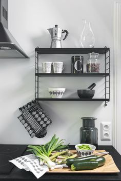 The tradition of Finnish forests lives in the modern Metsikkö collection. The youthful and timeless pattern was inspired by Hvitträsk national landscape. Minna Niskakangas wanted to bring the beauty of the forests into the everyday life of city dwellers. Shelves, Modern, Home Decor, Kitchen, Kitchen Towels, Inspiration
