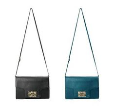 RAMPAGE Ladies RP4290 shoulder bag W/ Fold Over Flap and Gold Turnlock Closure