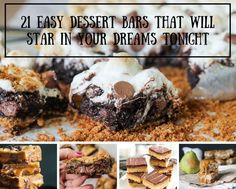 21 Easy Dessert Bars That Will Star In Your Dreams Tonight