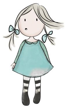 """Photo from album """"Alice + Olivia"""" on Yandex. Cute Easy Drawings, Art Drawings For Kids, Doodle Drawings, Drawing For Kids, Doodle Art, Art For Kids, Stick Figure Drawing, Rock Painting Designs, Stick Figures"""