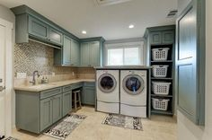45 The Best Laundry Room Makeover Ideas For Your Dream House - Its one of the most used rooms in the house but it never gets a makeover. What room is it? The laundry room. Almost every home has a laundry room and . Mudroom Laundry Room, Laundry Room Layouts, Large Laundry Rooms, Laundry Storage, Laundry Room Organization, Laundry Room Design, Organization Ideas, Storage Ideas, Ikea Laundry Room Cabinets
