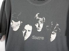 The Doors Mens T-Shirt Medium 100% Cotton  #TheDoors #Casual