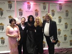 The Team FEMME of Director Emmanuel Itier and his wife Roxanna Bina with Producers Celeste Yarnall and Nazim Artist as well as Actress-Singer Maria Conchita Alonso were last night celebrating their success at the Satellite Awards Ceremony from the International Press Academy.