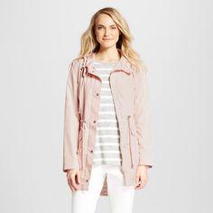 Women's Rain Coat Peach (Pink) XS - Merona, Coats & Jackets
