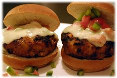 Spicy Italian grilled hamburger recipe