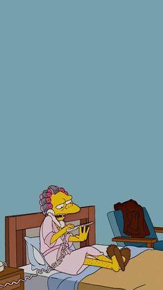 Dope Wallpaper Iphone, Simpson Wallpaper Iphone, Hippie Wallpaper, Dope Wallpapers, Mood Wallpaper, Iphone Wallpaper Tumblr Aesthetic, Simpsons Drawings, Simpsons Art, Cute Screen Savers