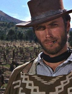 Tuco: You pig! You wanted to get me killed. When d'ya unload it? Blondie: Last night. You see in this world there's two kinds of people my friend - those with loaded guns, and those who dig. You dig. Clint Eastwood - The Good, ........but also as cool and   calculating as hell!