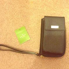 Kate spade Kirstie black wallet Brand new, never been used Kate Spade black wallet kate spade Bags Clutches & Wristlets