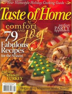 Taste of Home Magazine, Only $3.99 per Year!