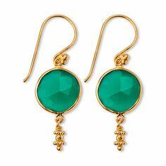Earrings - Cyan Spirit Earrings - Arhaus Jewels