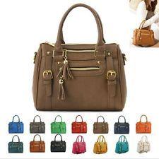 NEW Women Shoulder Bag Ladies Tote Satchel Hobo CrossBody Handbag Faux Leather