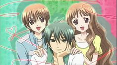 Special A ~ The Twins (Jun and Megumi) and Ryu ~
