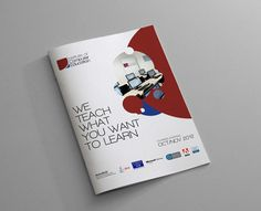 A brochure designed for The Institute of Computer Education, end of 2012 ICT Professional Courses. Brochure Design, Editorial Design, Portfolio Design, Malta, Creative Design, Behance, Ice, Training, Education