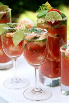 Shrimp Ceviche, Bloody Mary, Brunch, Yummy Food, Cooking, Breakfast, Recipes, Kitchen, Morning Coffee