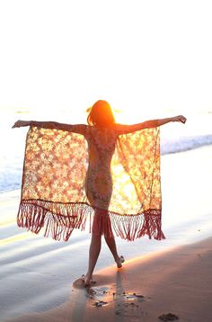 Beach Bohemian Girl.