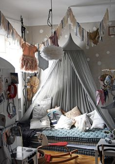 Astrid's room is a little girl's room wonderland of inspiration!