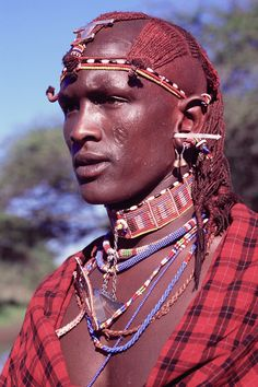 Photo and Video Gallery - Campi ya Kanzi, Chyulu Hills - Kenya Safari African Tribes, African Men, African History, African Beauty, Maasai People, Africa People, Tribu Masai, Black Is Beautiful, Beautiful People