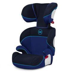 CYBEX SOLUTION (SIN ISOFIX) Cybex Solution es la silla más básica de la serie mejor valorada en los ensayos de choque europeos. Esta silla se instala haciendo uso del cinturón de seguridad del vehículo. Tiene una vida útil muy larga ya que se puede regular en altura hasta que el niño alcance una estatura de 1,50m.