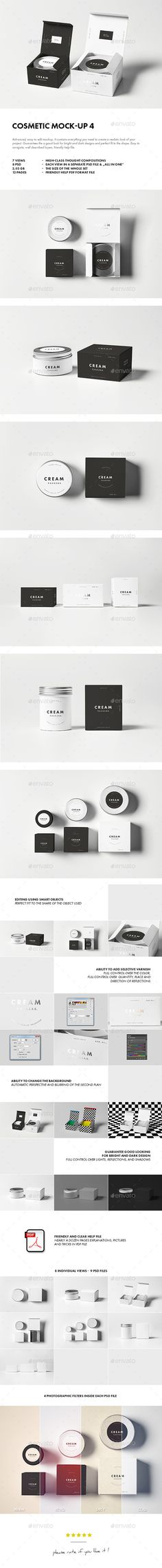 Cosmetic Mock-up #design Download: http://graphicriver.net/item/cosmetic-mockup-4/12021440?ref=ksioks