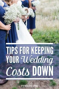Read 5 tips on keeping your wedding costs down from a professional in the wedding industry. It can get expensive fast, so get a handle on it as early as you can! These ideas can save you a lot as you plan the wedding of your dreams! http://ptmoney.com/che