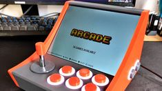 Custom arcade machines have always been a fairly common project in the hacker and maker circles, but they've really taken off with the advent of the Raspberry Pi and turn-key controller kits. Video Game Decor, Video Game Rooms, Arcade Bartop, Diy Arcade Cabinet, Arcade Stick, Arcade Room, Movie Rooms, Tv Rooms, Raspberry Pi Projects