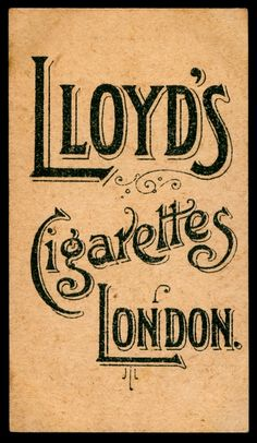 "Richard Lloyd's Cigarettes ""National Types, ""Costumes & Flags"" (issued in 1900) 