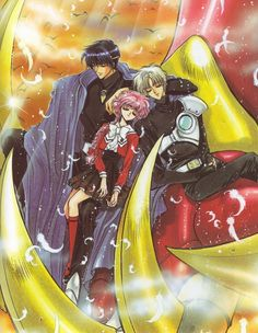 Magic Knight Rayearth by CLAMP - Shidou Hikaru, Eagle Vision & Lantis - my favorite ship of theirs M Anime, Anime Love, Awesome Anime, Dreamworks, Magic Knight Rayearth, Mecha Anime, Another Anime, Cardcaptor Sakura, Manga Drawing