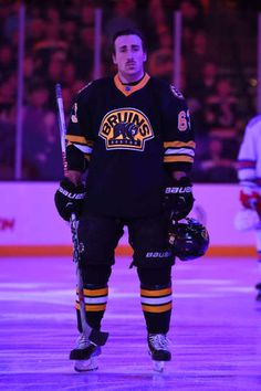Nov.27 2015 - NYR 3 - Boston 4 - Photo Galleries - NOVEMBER 27 : Brad Marchand #63 of the Boston Bruins before the game against the New York Rangers at the TD Garden on November 27, 2015 in Boston, Massachusetts. (Photo by Brian Babineau/NHLI via Getty Images)