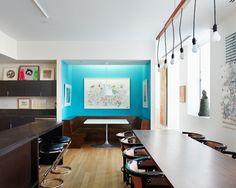 Dining space + colors - Hughes Residence | by El Dorado Inc.