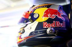 Carlos Sainz jnr. 2014 Abu Dhabi Red Bull Test Helmet