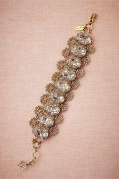 (Preciosa bracelet 1 of 2) Absolutely gorgeous—Zari crochet (strung mini beads) shell design edging the crystals❣ St. Erasmus