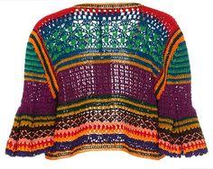 Spencer Vladimir - Tulum Bell Crochet Cardigan