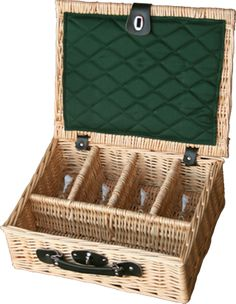 4 Glass Presentation Drinks Basket - http://redhamper.co.uk/4-glass-presentation-drinks-basket/  #drinksbaskets #shoppingbaskets