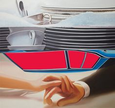 James Rosenquist helped define Pop Art in its heyday with his boldly scaled painted montages of commercial imagery. Artist Painting, Artist Art, Painting & Drawing, Die Eifel, James Rosenquist, Tv Movie, Pop Art Movement, Claes Oldenburg, Cultura Pop