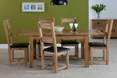 Quality Oak Furniture, Pine Furniture and Painted Furniture in bedroom, living and dining at genuine value for money prices. Pine Furniture, Dining Furniture, Dining Chairs, Dining Table, Oak Dining Sets, Kitchen Dining, Seville, Home Decor, Create