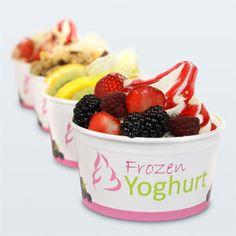 frozen joghurt - Google-Suche