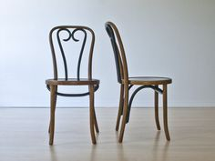 Pair of Thonet Bentwood No. 16 Cafe Chairs in East Los Angeles, California ~ Apartment Therapy Classifieds