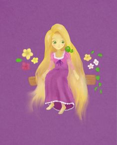 Rapunzel By Rikstal On DeviantART Disney Movie Characters Movies And Eugene